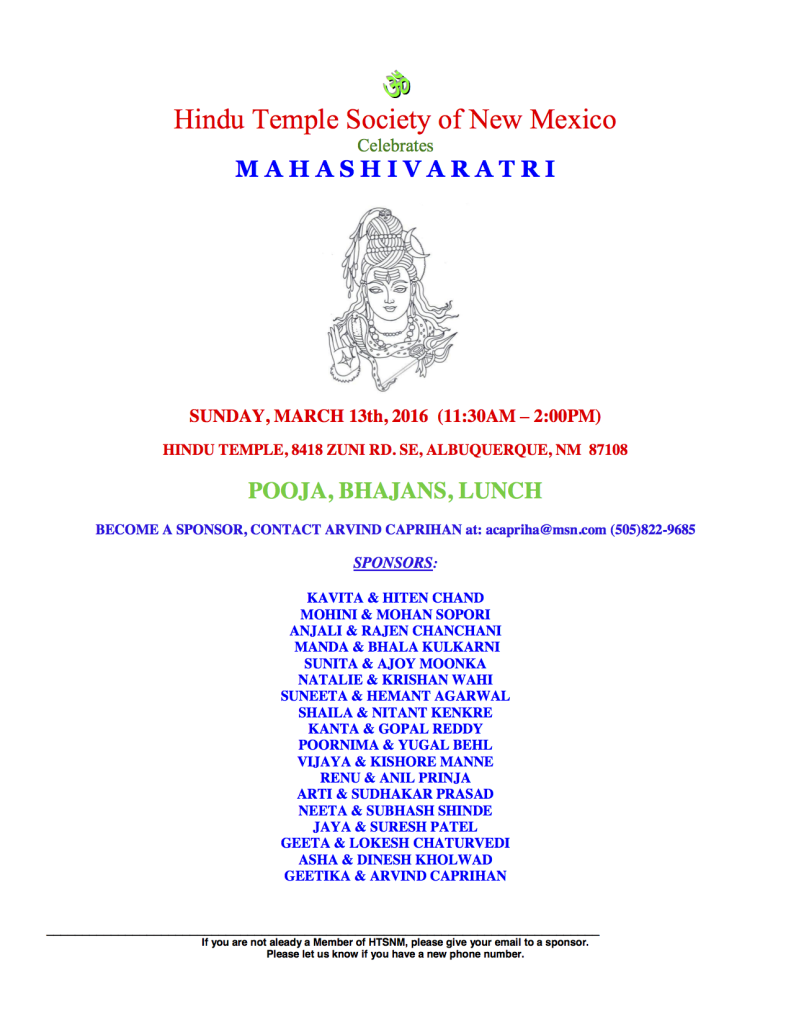 SHIVARATRI-March2016 (1)
